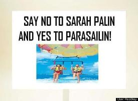 Say not to Sarah Palin. Say yes to Parasalin.