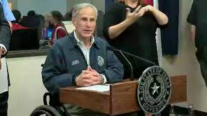 Texas Gov. Greg Abbott speaks at news conference in advance of Hurricane Harvey